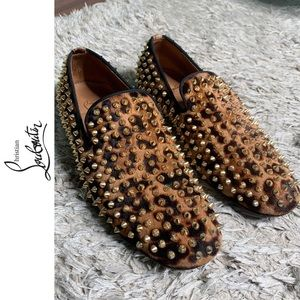 Christian Louboutin Spiked Roller Boy Loafers